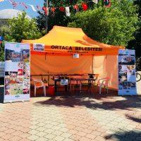 2. Geleneksel Dalyan Sanat Festivali'nde, Ebru Sanatıyla Dalyan Halkıyla Buluştuk