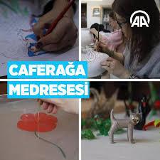 """AA Haberi """"Caferağa Medresesi Sanatı Koşulsuz Sevenlerin Adresi"""""""
