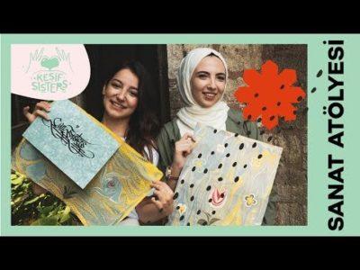 """Modanisa You Tube Kanalı """"Ebru Sanatı Nasıl Yapılır"""" Videosu"""